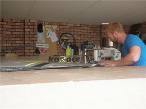 First garage workshop